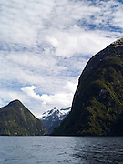 View of the Hall Arm off of Doubtful Sound, Fiordland National Park, New Zealand; 22 Sept 2012