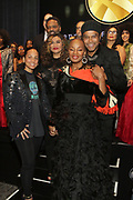 NEW YORK, NEW YORK- FEBRUARY 11: (L-R) Recording Artist Alicia Keys (Honorary Gala Chair), Tina Knowles, Susan Taylor, Maxwell, Dr. Michael Eric Dyson, Rev. Dr. Marcia Dyson and others attend the National CARES Mentoring Movement 'FOR THE LOVE OF OUR CHILDREN' Gala Inside held at the Zeigfeld Ballroom on February 11, 2019 in New York City.  (Photo by Terrence Jennings/terrencejennings.com)