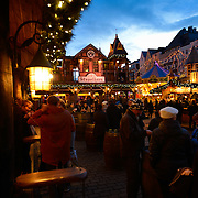 Christmas Drinks In cristmas Market, Cologne, Germany