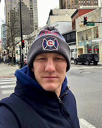 """Bastian Schweinsteiger releases a photo on Instagram with the following caption: """"Game day! Let\u2019s go \ud83d\udd25!"""". Photo Credit: Instagram *** No USA Distribution *** For Editorial Use Only *** Not to be Published in Books or Photo Books ***  Please note: Fees charged by the agency are for the agency's services only, and do not, nor are they intended to, convey to the user any ownership of Copyright or License in the material. The agency does not claim any ownership including but not limited to Copyright or License in the attached material. By publishing this material you expressly agree to indemnify and to hold the agency and its directors, shareholders and employees harmless from any loss, claims, damages, demands, expenses (including legal fees), or any causes of action or allegation against the agency arising out of or connected in any way with publication of the material."""