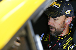 July 13, 2018 - Sparta, Kentucky, United States of America - Matt Kenseth (6) straps into his car to practice for the Quaker State 400 at Kentucky Speedway in Sparta, Kentucky. (Credit Image: © Chris Owens Asp Inc/ASP via ZUMA Wire)