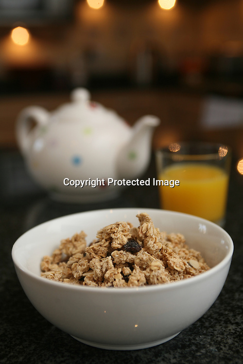Mornflakes Cereals..Mornflake Classic Oat Crunchy. Raisin, honey and almond
