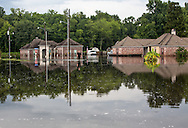 FLooded home in Sorrento, Louisiana.