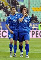 Fotball<br /> Bulgaria<br /> Foto: imago/Digitalsport<br /> NORWAY ONLY<br /> <br /> 09.05.2009 <br /> Veselin Minev (li.) und Georgi Hristov (beide Levski Sofia)