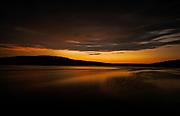 Sunset on Harveys Lake, Pennsylvania, by Darren Elias Photography