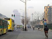 bicycling to work Beijing China