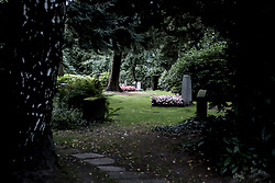 August 26, 2017 - Hamburg, Germany - Hamburg's Cemetery Ohlsdorf is the largest rural cemetery in the world. The cemetery has an area of 391. It is not only used as a cemetery, but also as a recreational area and tourist attraction. August 26, 2017. Germany  (Credit Image: © Oscar Gonzalez/NurPhoto via ZUMA Press)