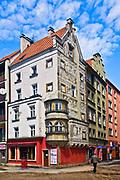 """Kamienica pod """"Przepiórczym Koszem"""", Legnica, Polska<br /> Tenement """"Under the Quall Basket House"""" in Legnica, Poland"""