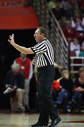 04 December 2012:   during an NCAA mens basketball game between the University of Wyoming Cowboys (Mountain West Conference)and the Illinois State Redbirds (Missouri Valley Conference) in Redbird Arena, Normal IL