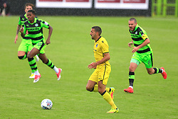 Byron Moore of Bristol Rovers on the attack - Mandatory by-line: Paul Roberts/JMP - 22/07/2017 - FOOTBALL - New Lawn Stadium - Nailsworth, England - Forest Green Rovers v Bristol Rovers - Pre-season friendly