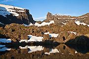 Dyrfjöll 1.136m and Stórurð, east Iceland