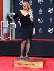 Mariah Carey is honored with a Hand and Footprint Ceremony - 1 Nov 2017