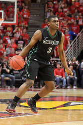 18 March 2015:   Khalil Small during an NIT men's basketball game between the Green Bay Phoenix and the Illinois State Redbirds at Redbird Arena in Normal Illinois