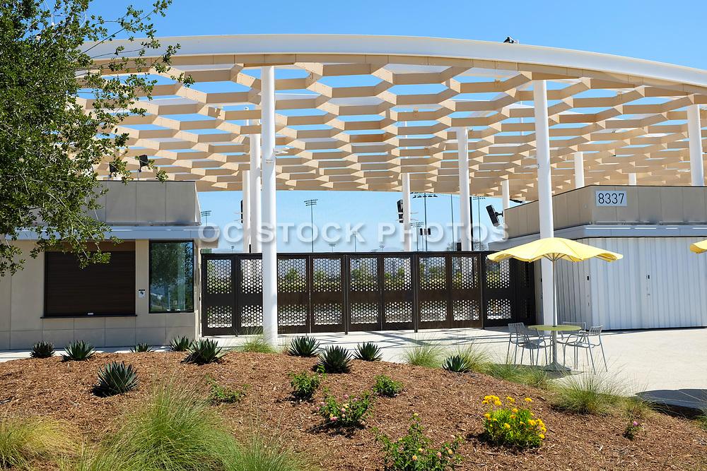 Main Entrance to the Great Park Softball Stadium