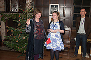 DEBORAH CURTIS; NAOMI HUTCHINSON, The house of fairly tales exhibition launch. Sutton House. , 2 and 4 homerton high st. london.  E9 6JQ 12 December 2012.