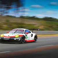 #91, Porsche GT Team, Porsche 911 RSR (2017), driven by, Richard Lietz, Frederic Makowiecki, Patrick Pilet, Laurens Vanthoor, 24 Heures Du Mans Test weekend, 04/06/2017,