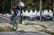#66 (PALMER James) CAN during practice at Round 5 of the 2018 UCI BMX Superscross World Cup in Zolder, Belgium