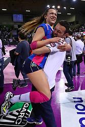 11-05-2017 ITA: Finale Liu Jo Modena - Igor Gorgonzola Novara, Modena<br /> Novara heeft de titel in de Italiaanse Serie A1 Femminile gepakt. Novara was oppermachtig in de vierde finalewedstrijd. Door een 3-0 zege is het Italiaanse kampioenschap binnen. / ZANNONI GIORGIA<br /> <br /> ***NETHERLANDS ONLY***