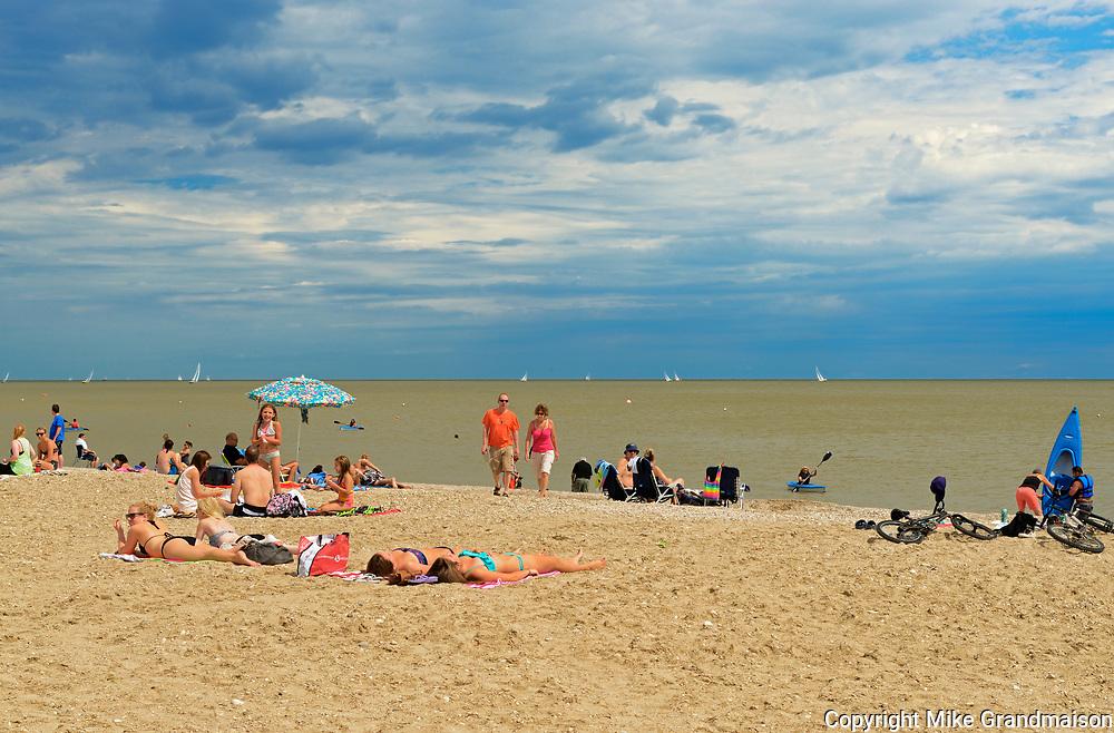 Beach on Lake Winnipeg<br />Gimli<br />Manitoba<br />Canada