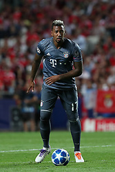 September 19, 2018 - Lisbon, Portugal - Bayern Munich's defender Jerome Boateng from Germany in action during the UEFA Champions League Group E football match SL Benfica vs Bayern Munich at the Luz stadium in Lisbon, Portugal on September 19, 2018. (Credit Image: © Pedro Fiuza/NurPhoto/ZUMA Press)
