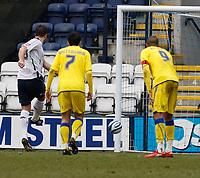 Photo: Steve Bond/Richard Lane Photography. Preston North End v Cardiff City. Coca Cola Championship. 27/02/2010. Jon Parkin puts away the penalty