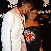 Playboy Night 2004, Lizelotte van Dijk en broer