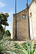 Original Stone Wall of the San Juan Mission