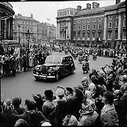 Royal Visit to Ireland by Princess Grace and Prince Rainier of Monaco.10-11-12.06.1961