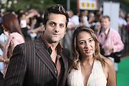 Fardeen Khan with wife Natasha Madhwani arriving at the International Indian Film Academy Awards (IIFA) ceremony at the Hallam Arena in Sheffield for the annual IIFA awards. The awards were known as the 'Bollywood Oscars' and ran from 7-10th June. They were watched by an estimated global television audience 500 million people.