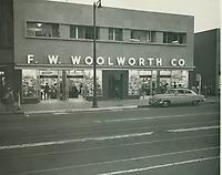 1953 F.W. Woolworth on Hollywood Blvd.