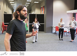 Members of Irish theatre company Pan Pan lead a Shakespeare workshop at TSB Arena in Wellington, as part of the New Zealand International Arts Festival.