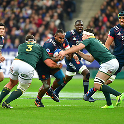Jefferson Poirot of France during the test match between France and South Africa at Stade de France on November 18, 2017 in Paris, France. (Photo by Dave Winter/Icon Sport)