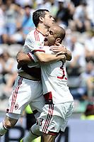 esultanza gol Alex Milan Goal celebration <br /> Reggio Emilia 17-05-2015 Mapei Stadium Football Calcio Serie A 2014/2015 Sassuolo - Milan Foto Image Sport/Insidefoto