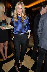 DONNA AIR at the London launch of Casamigos Tequila hosted by Rande Gerber, George Clooney & Michael Meldman and to celebrate Cindy Crawford's new book 'Becoming' held at The Beaumont Hotel, Brown Hart Gardens, 8 Balderton Street, London on 1st October 2015.