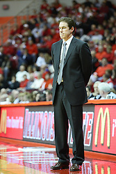 29 December 2011:  Tim Jankovich during an NCAA mens basketball game between the Northern Illinois Panthers and the Illinois State Redbirds in Redbird Arena, Normal IL
