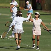 during the 2009 ITF Super-Seniors World Team and Individual Championships at Perth, Western Australia, between 2-15th November, 2009.