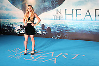 Louisa Johnson, The X Factor, In The Heart Of The Sea - European Film Premiere, Leicester Square, London UK, 02 December 2015, Photo by Richard Goldschmidt