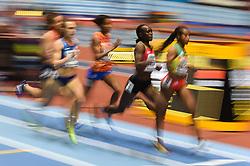 March 2, 2018 - Birmingham, England, United Kingdom - Winny Chebet ofKenya at 1500 meter semi final at World indoor Athletics Championship 2018, Birmingham, England on March 2, 2018. (Credit Image: © Ulrik Pedersen/NurPhoto via ZUMA Press)