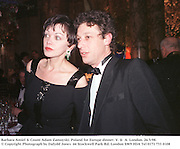 Barbara Amiel & Count adam Zamoyski. Poland for Europe dinner. V. &  A. London. 26/3/98. <br />© Copyright Photograph by Dafydd Jones<br />66 Stockwell Park Rd. London SW9 0DA<br />Tel 0171 733 0108