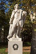 Statues of Spanish monarchs, Plaza de Oriente, Madrid, Spain, King Ramiro I of Aragon