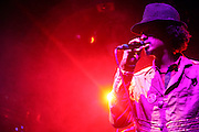 K'naan performs at Lenny Kravitz ' Let Love Rule' 20th Annivarsary Club Tour  held at Irving Plaza on October 11, 2009 in New York City