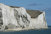 Great Britain - The Port of Dover and the white cliffs of Dover