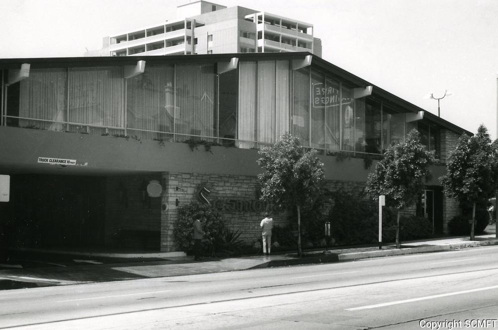 1973 Scandia Restaurant on Sunset Blvd.