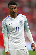 Jesse Lingard of England looking on. FIFA World cup qualifying match, european group F, England v Malta at Wembley Stadium in London on Saturday 8th October 2016.<br /> pic by John Patrick Fletcher, Andrew Orchard sports photography.