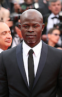 Djimon Hounsou at the the Grace of Monaco gala screening and opening ceremony red carpet at the 67th Cannes Film Festival France. Wednesday 14th May 2014 in Cannes Film Festival, France.