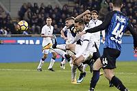 gol Mauro Icardi Inter Goal celebration <br /> Milano 19-11-2017 Stadio Giuseppe Meazza in San Siro Calcio Serie A 2017/2018 Inter - Atalanta Foto Image Sport / Insidefoto
