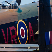Abstracting a Royal Air Force Avro Lancaster B I PA474 at the Air Venture air show in Oshkosh, Wisconsin.