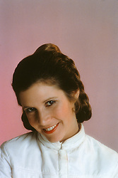 CARRIE FRANCES FISHER (October 21, 1956 - December 27, 2016) the actress best known as Star Wars' Princess Leia Organa, has died after suffering a heart attack. She was 60. Pictured: October 15, 1979 - London, United Kingdom, U.S. - CARRIE FISHER as Princess Leia. (Credit Image: © Lynn Goldsmith via ZUMA Press)