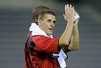 Fotball<br /> Landskamp 17.08.2005<br /> Belgia v Hellas<br /> Foto: PhotoNews/Digitalsport<br /> NORWAY ONLY<br /> <br /> TIMMY SIMONS