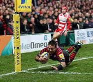 Gloucester Rugby v Saracens 040114